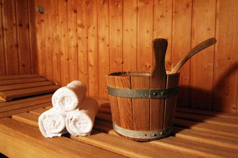 Sauna und Dampfbad für den JGA