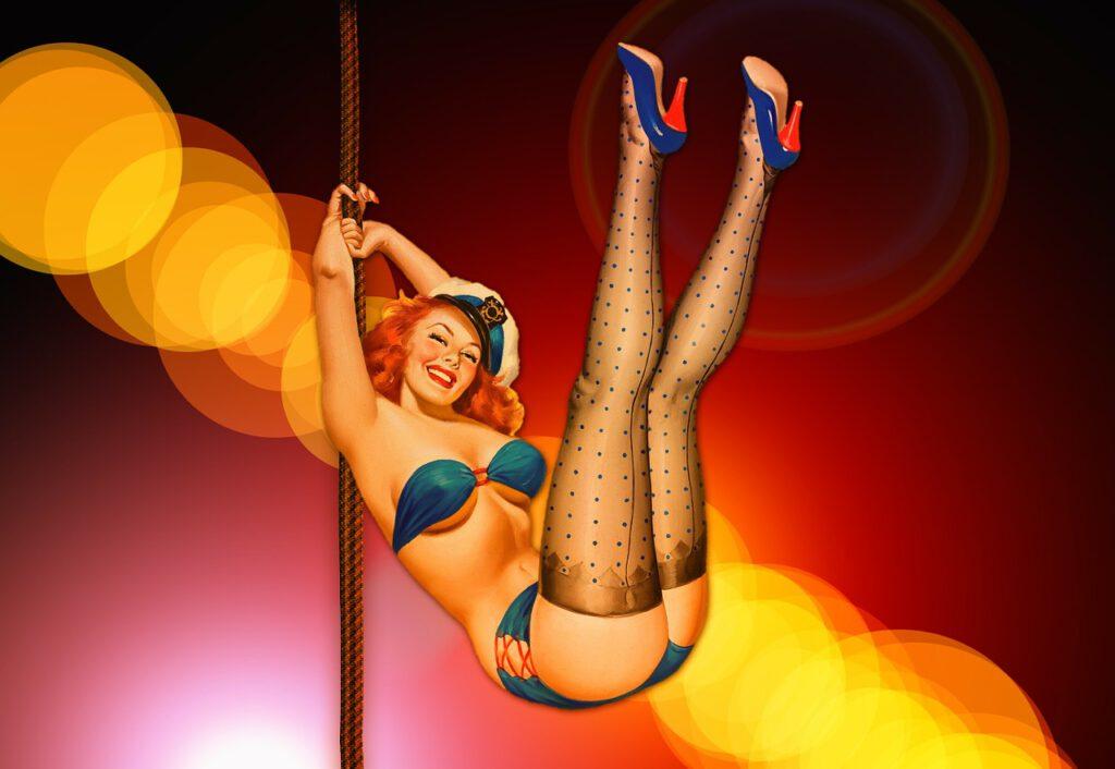 Striptease-Junggesellenabschied
