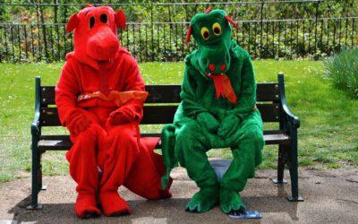 Lustige Kostüme für den Junggesellenabschied