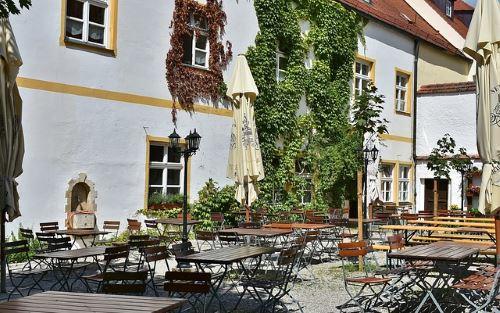 Biergarten JGA München