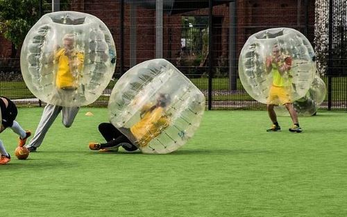 Bubble Fussball Dortmund