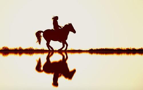 Pferde reiten JGA