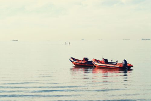 JGA Schlauchboot fahren