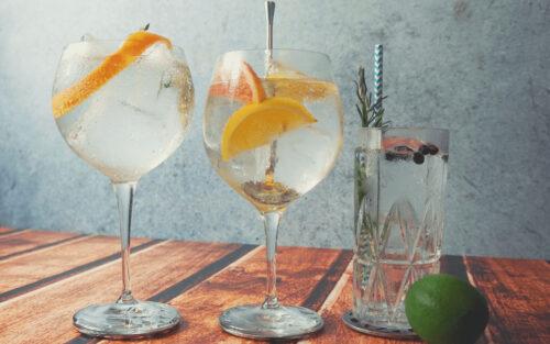 Gin Tasting - Verkoste verschiedene Gin Sorten zum JGA